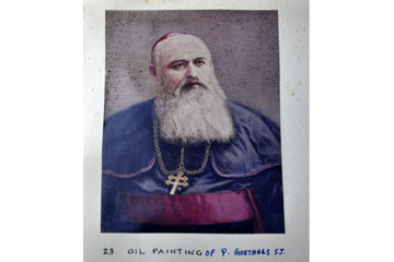 Oil Painting of P. Goethals S.J.